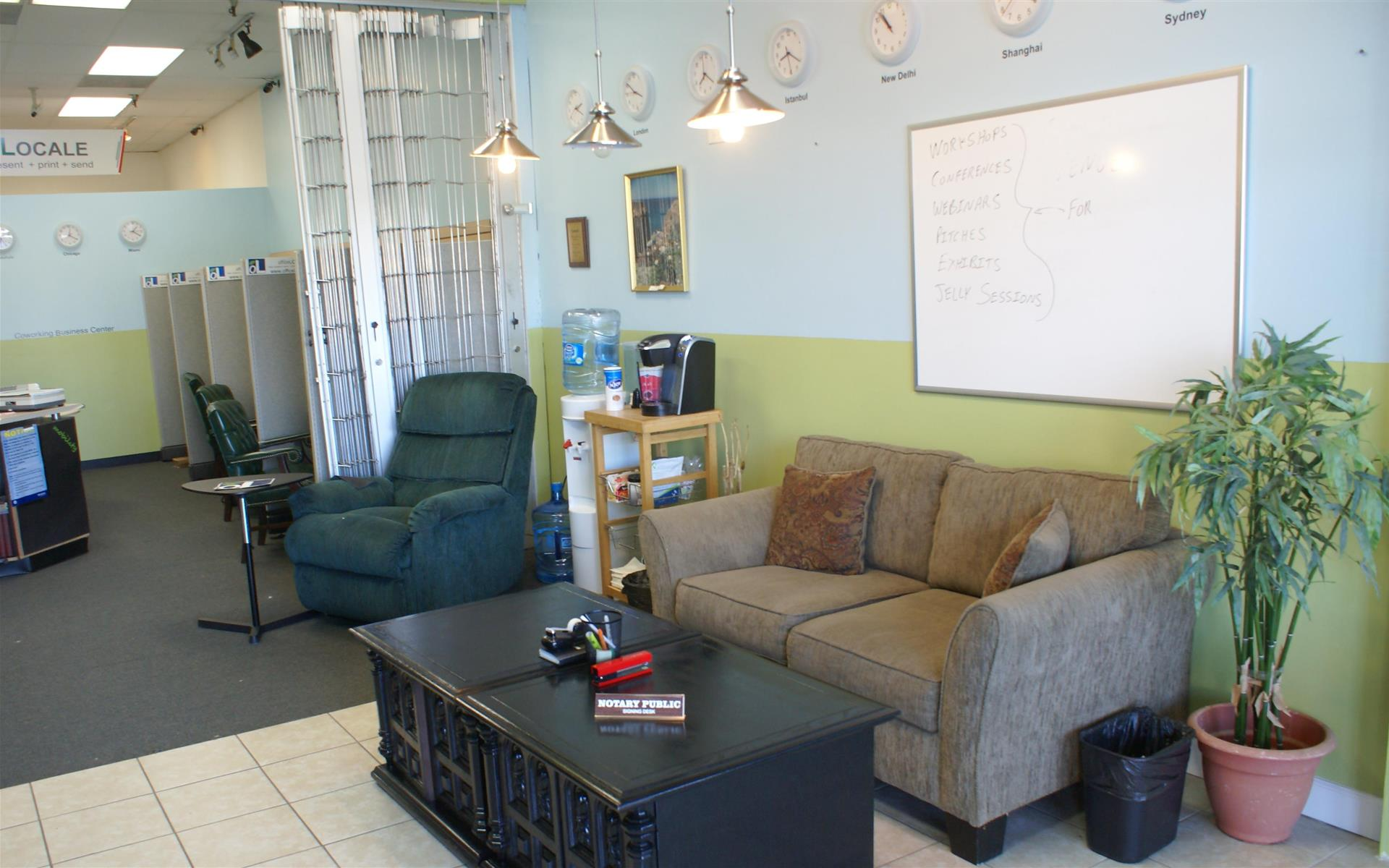 officeLOCALE Coworking Space & Cyberscraper - Lobby Area