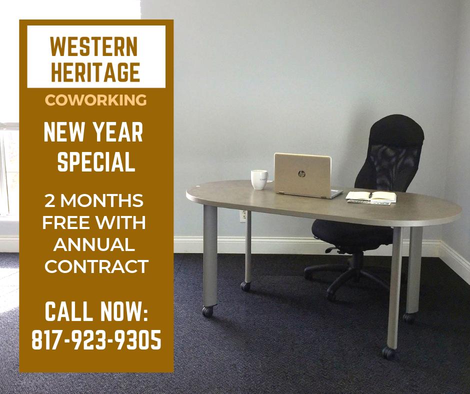 Western Heritage Coworking - Dedicated Desk