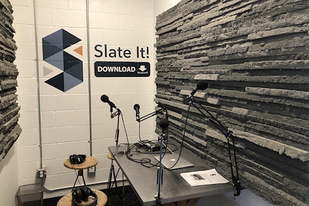 The Slate - Podcast Room