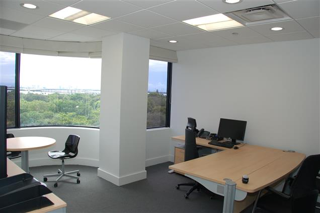 4770 Biscayne Suite 730 - Large Office with Conf Table