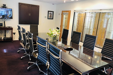 First Choice Executive Suites - Boardroom (Video Conferencing Equipped)