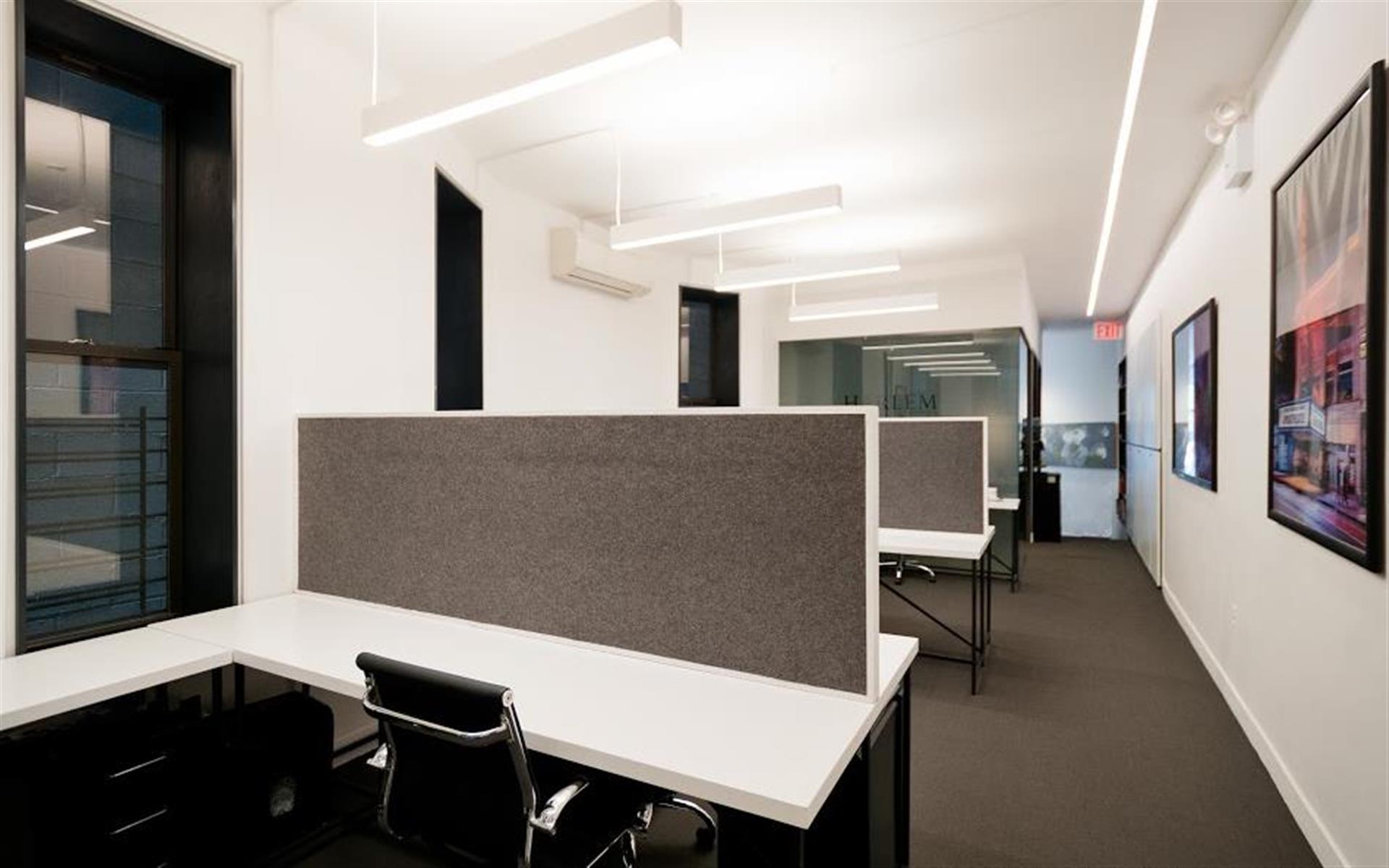 Harlem Properties - Dedicated Desk - 163 Malcolm X Boulevard