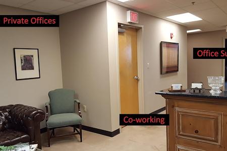 Flex Offices at the Crane Co Building of Memphis - Office Suite