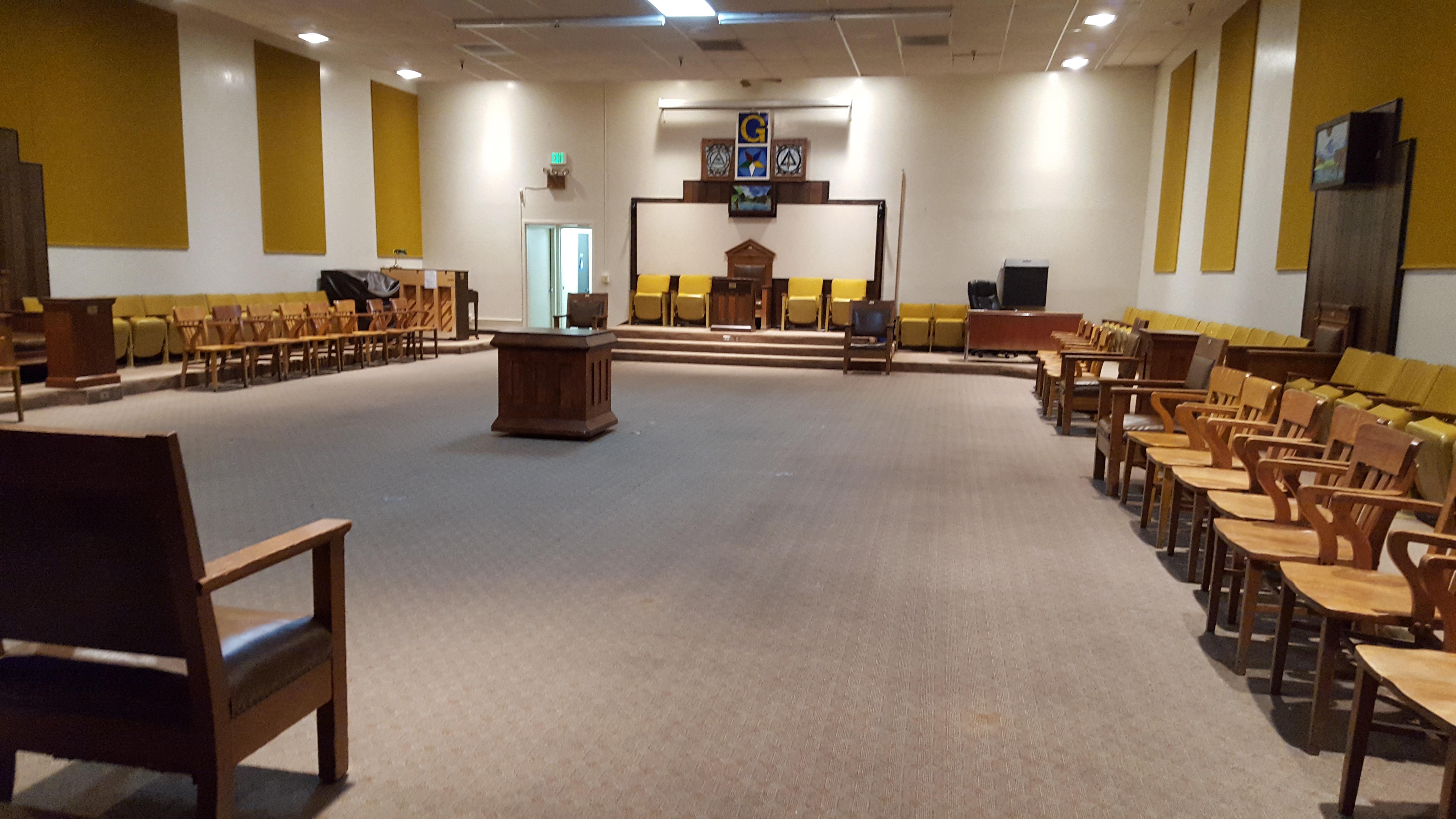 San Jose Masonic Center - Gold Room