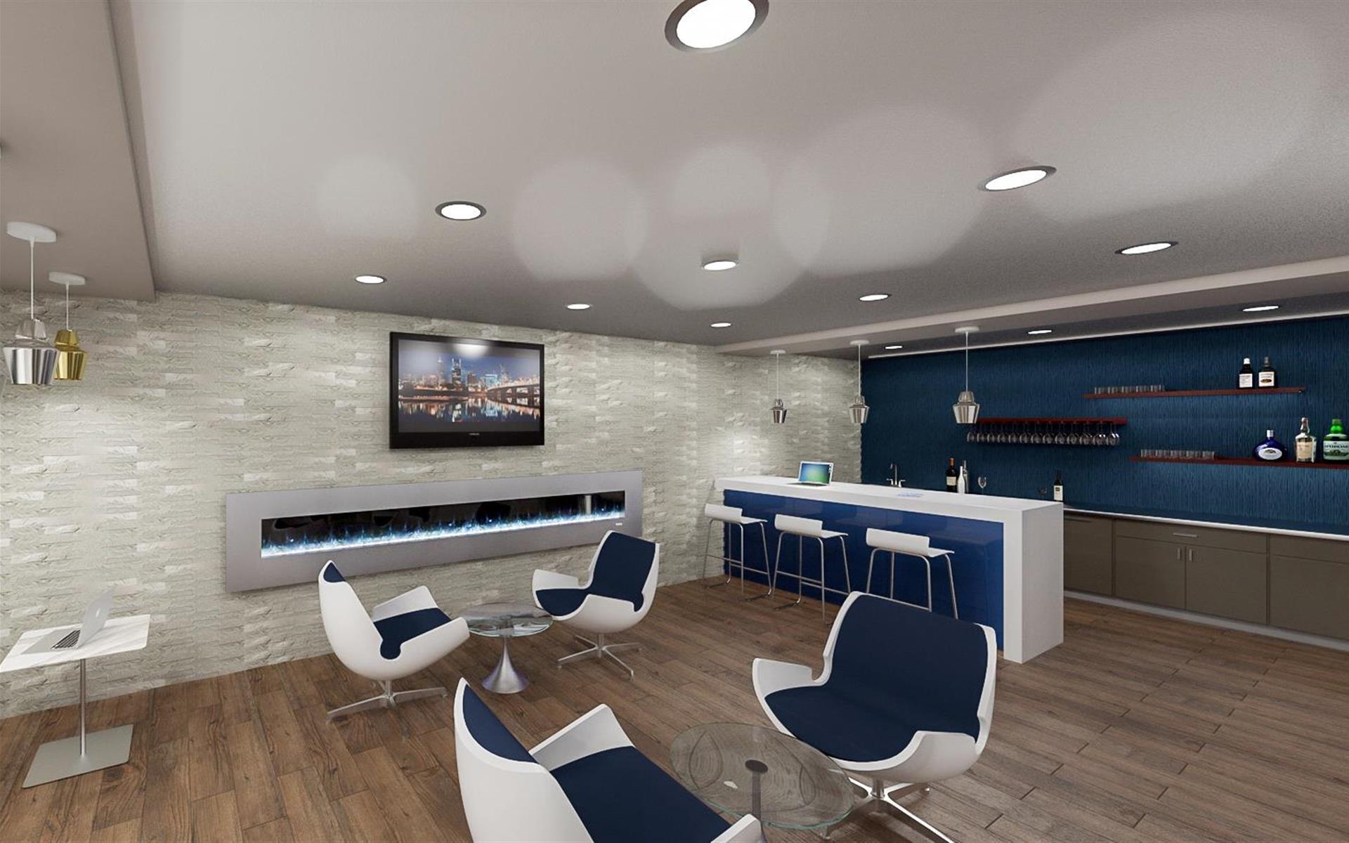 Metro Offices - One Metro Center - Metro Member Lounge