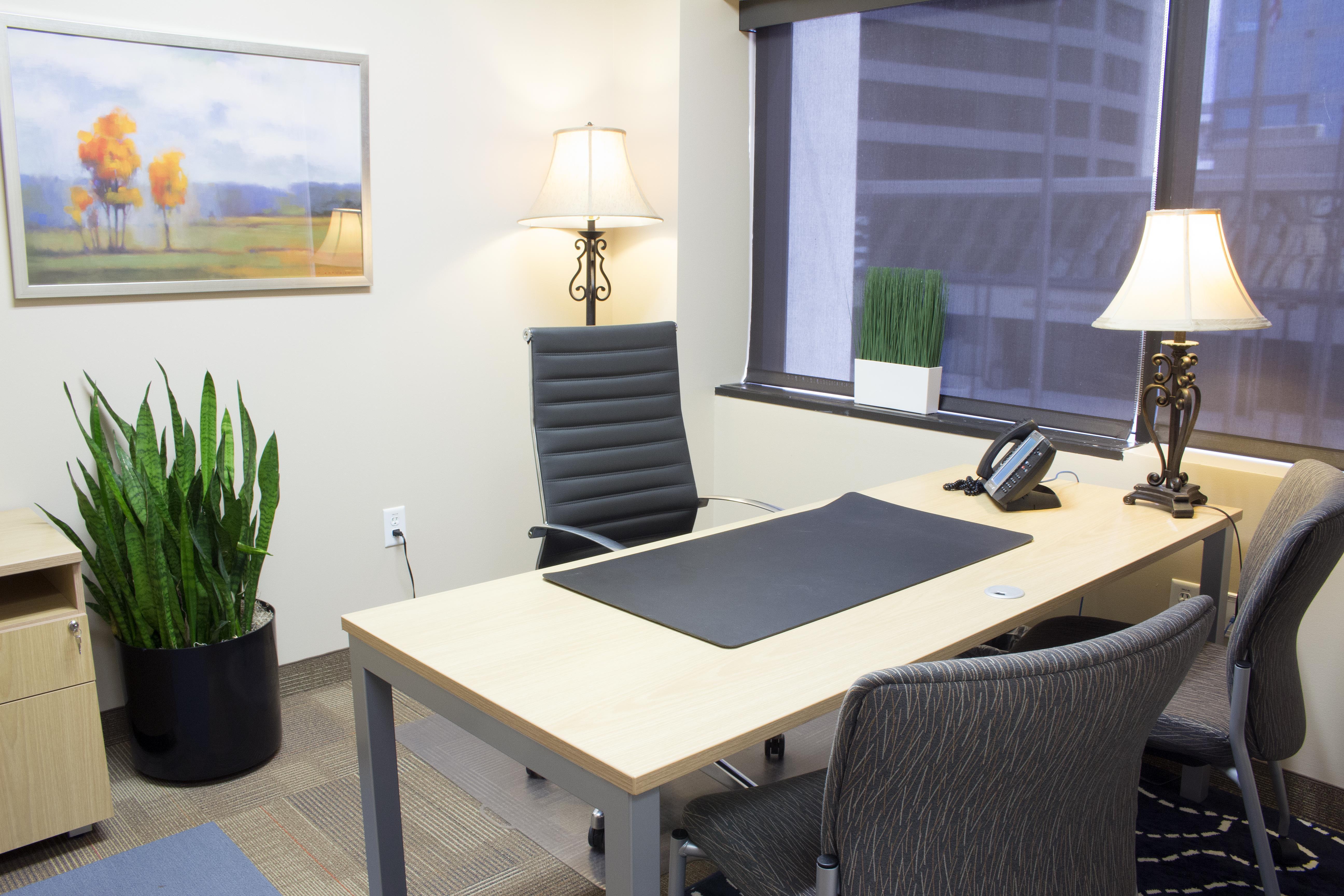 Avanti Workspace - Broadway Media Center - Interior Offices (90 s.f. each)