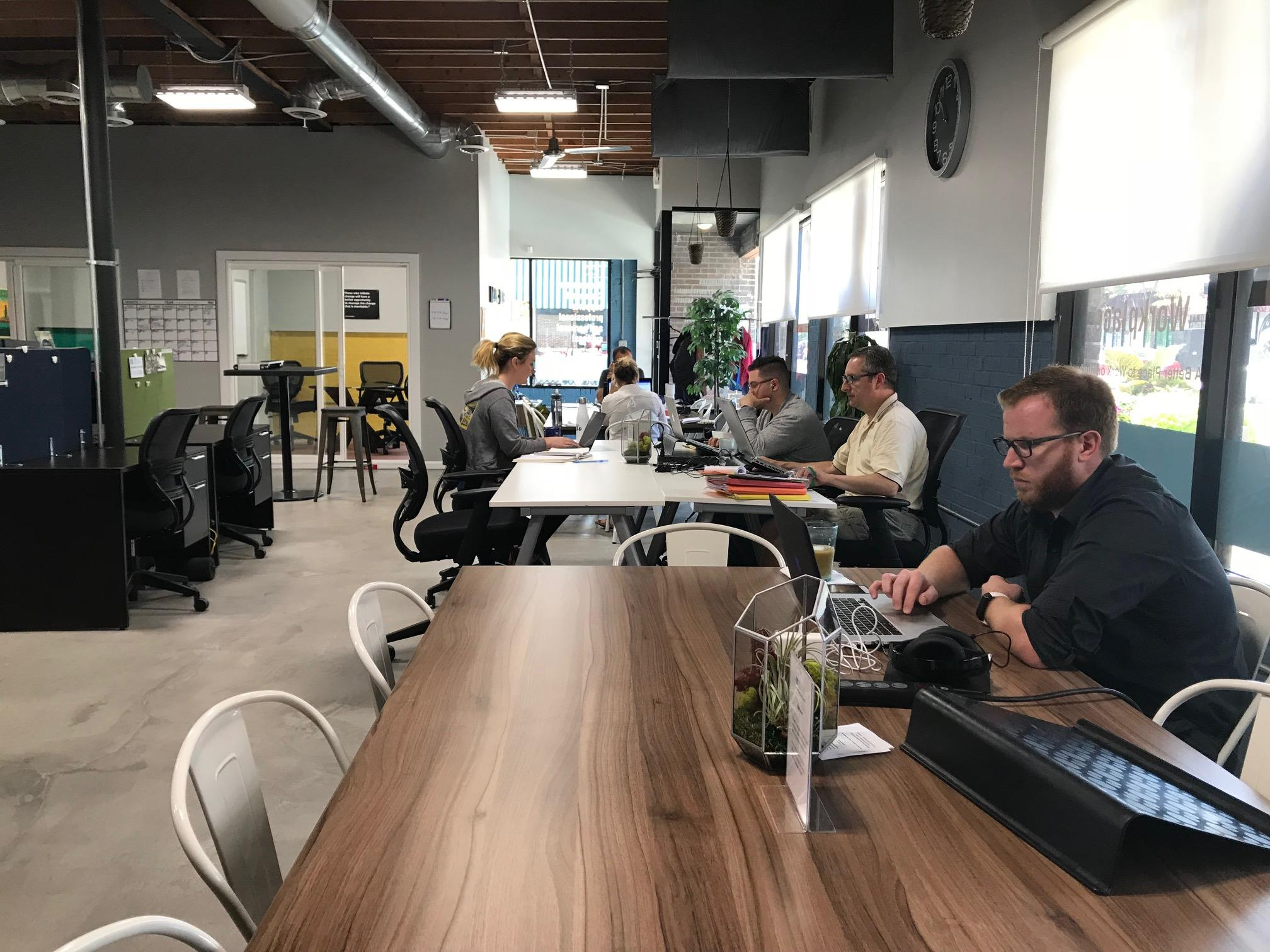 Human Citizen Workplace - Open Desk