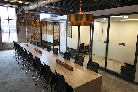 Versa Arena District - Team Office for 8 and 2 private offices