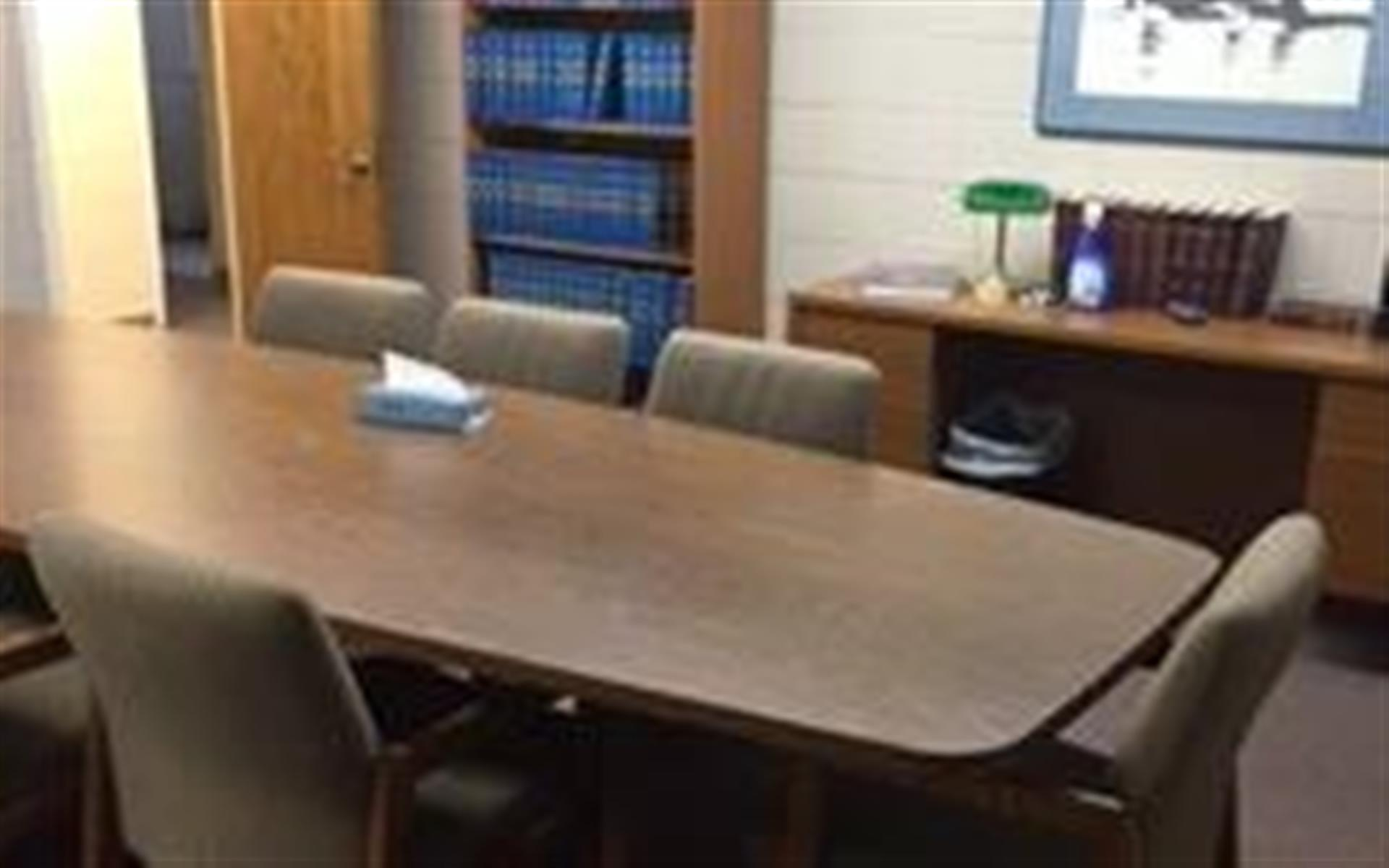 Law Resources Center - Small conference room video conferencing
