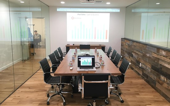 Private Meeting Room for 10 at Alfi Trade Inc. | LiquidSpace