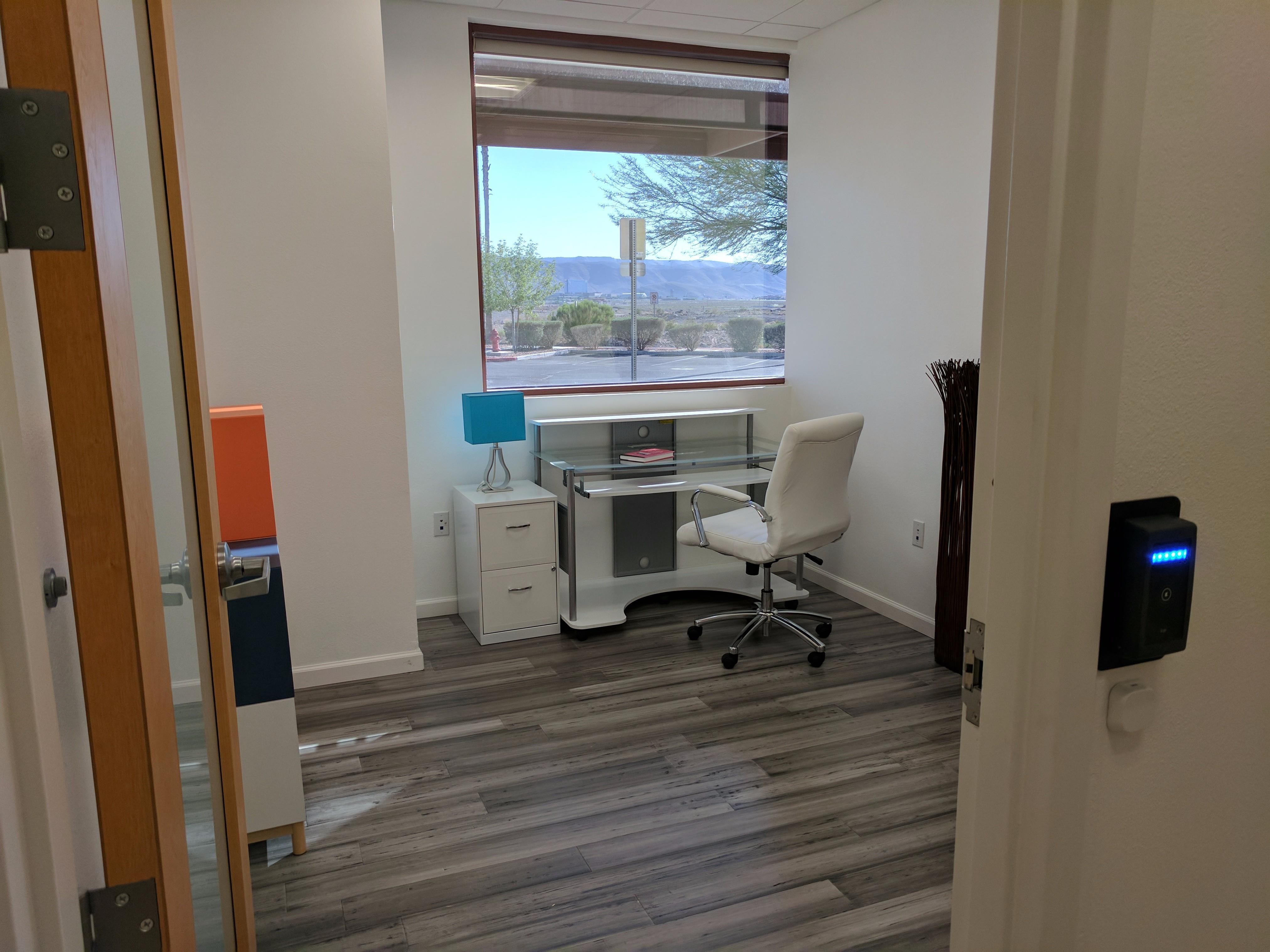 Incubator Space - Private 97 sqft Window Office