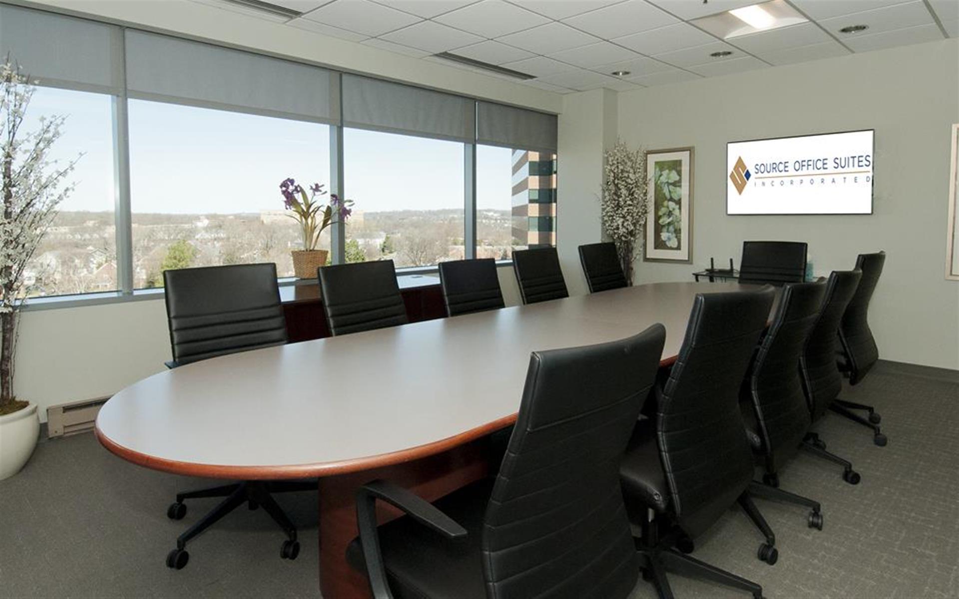 Source Office Suites Arlington - Executive Board Room