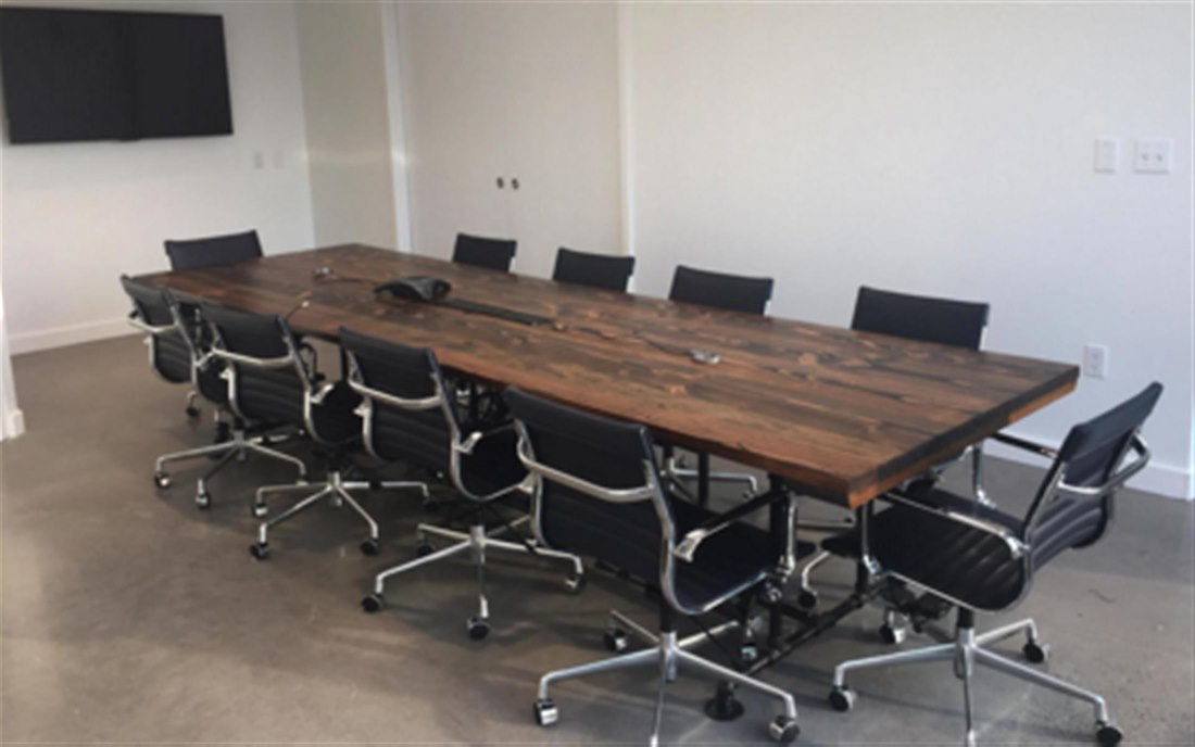 Manhattan Mini Storage Conference Room LiquidSpace - Conference table with storage