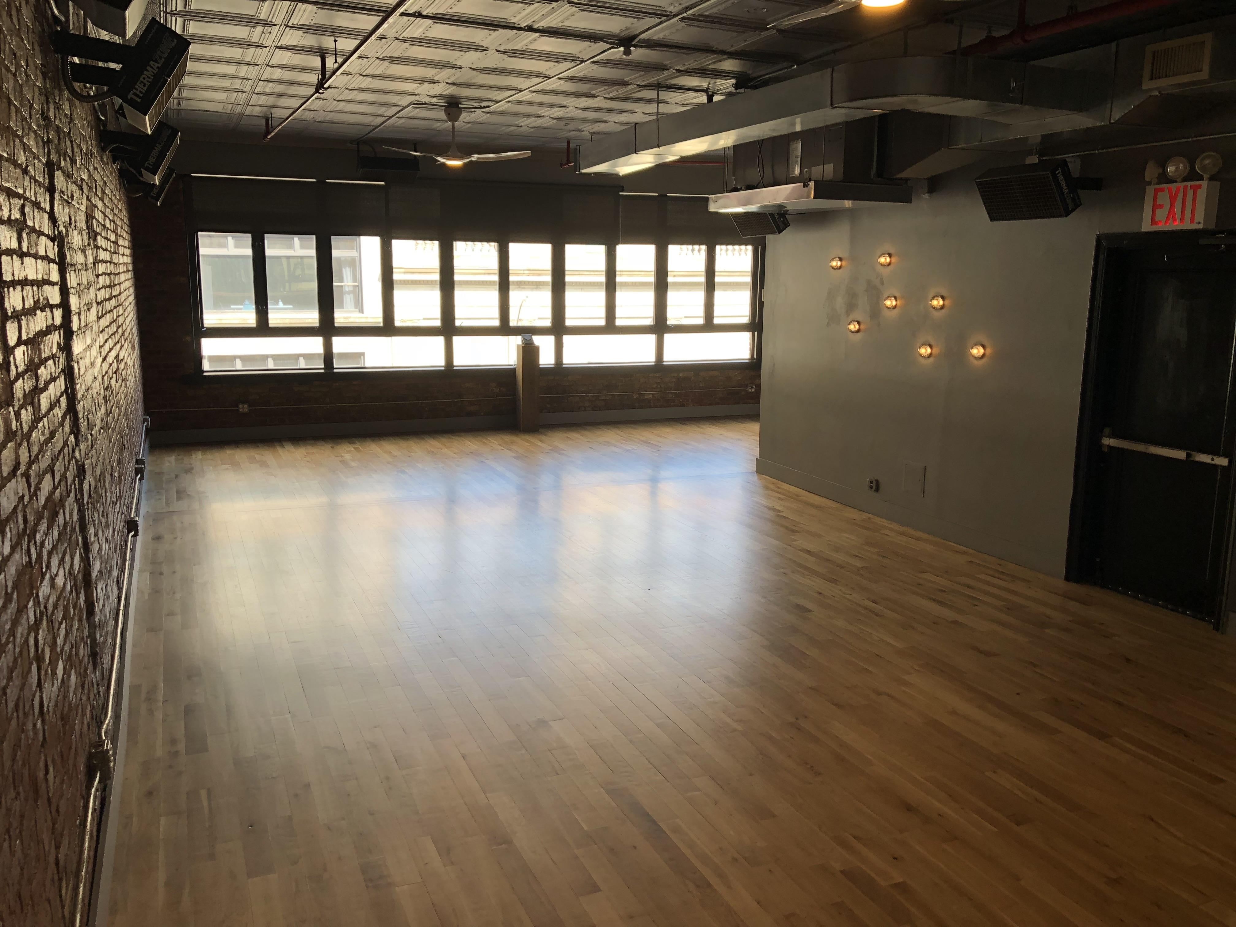 Sweat Space - Event Space 1