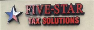 Logo of Five-Star Tax Solutions
