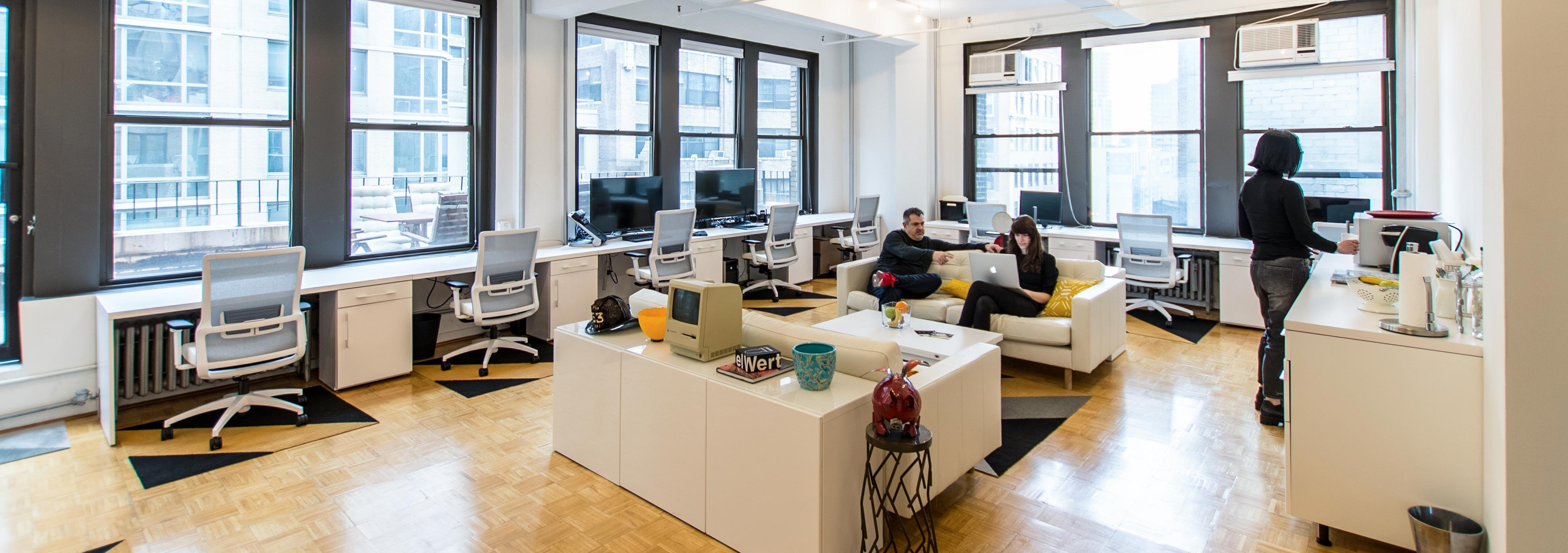 Loft Office Share in Midtown Manhattan - Dedicated Desk Better/Cheaper thn WeWork