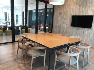 Kitchen Table Walnut Creek Semi private meeting space for 8 at capital one caf walnut creek capital one caf walnut creek workwithnaturefo