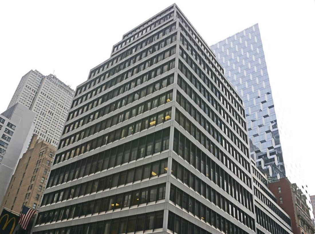 Working at Corporate Suites: 1180 6th Ave (46th) at New York