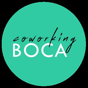 Logo of CoWorking Boca