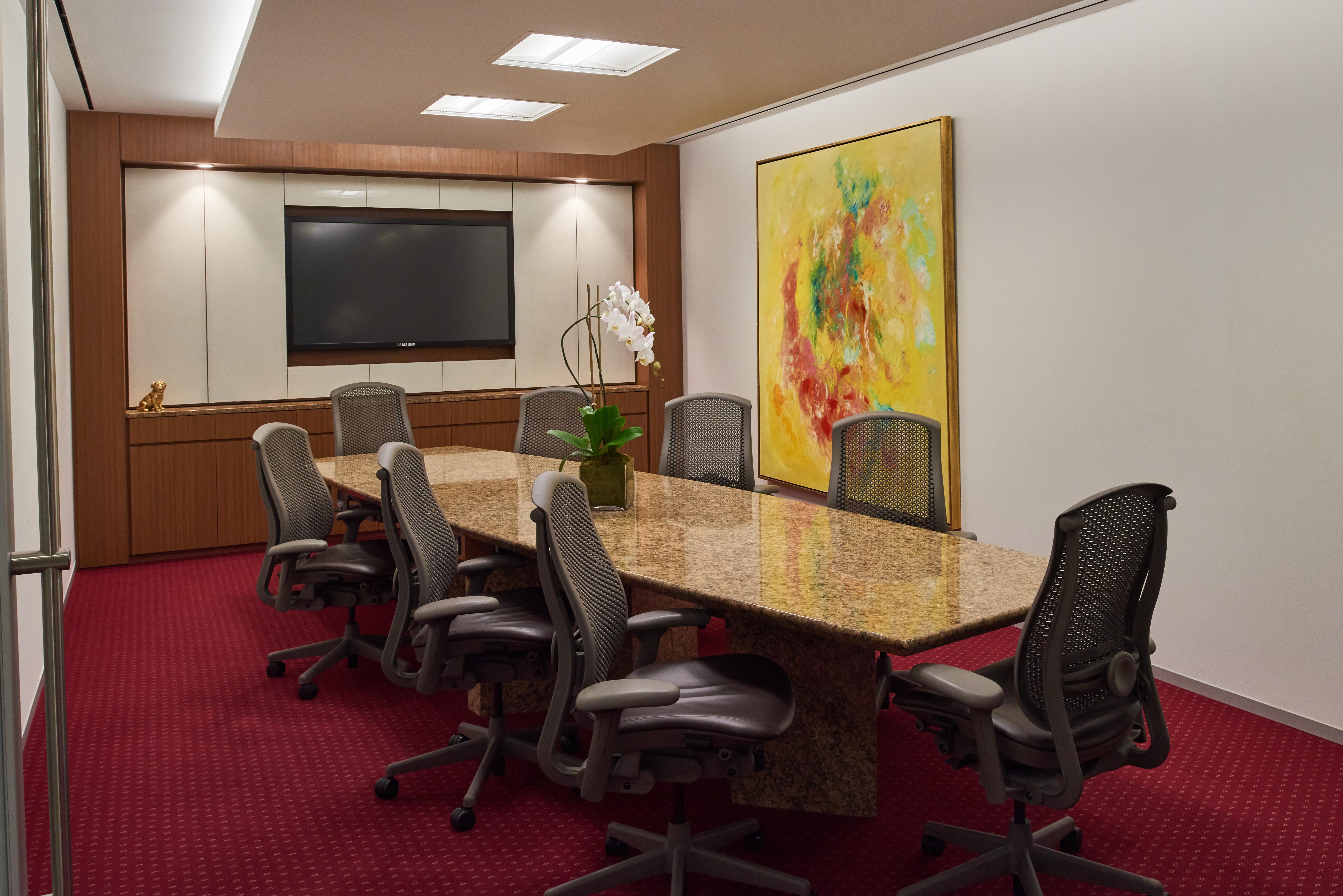Servcorp - New York 375 Park Avenue - 10 Person Executive Boardroom