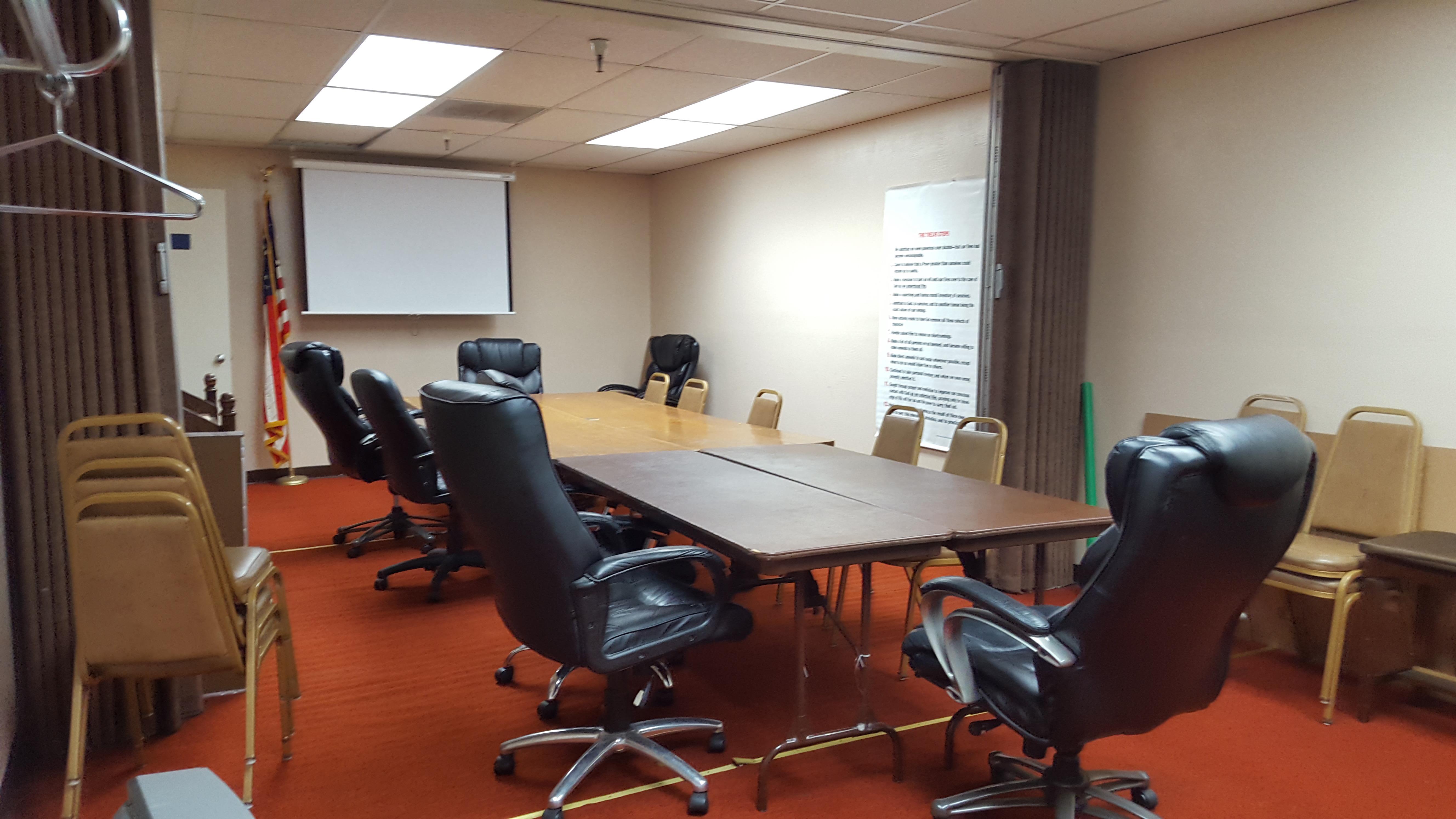 San Jose Masonic Center - Library/Conference Room