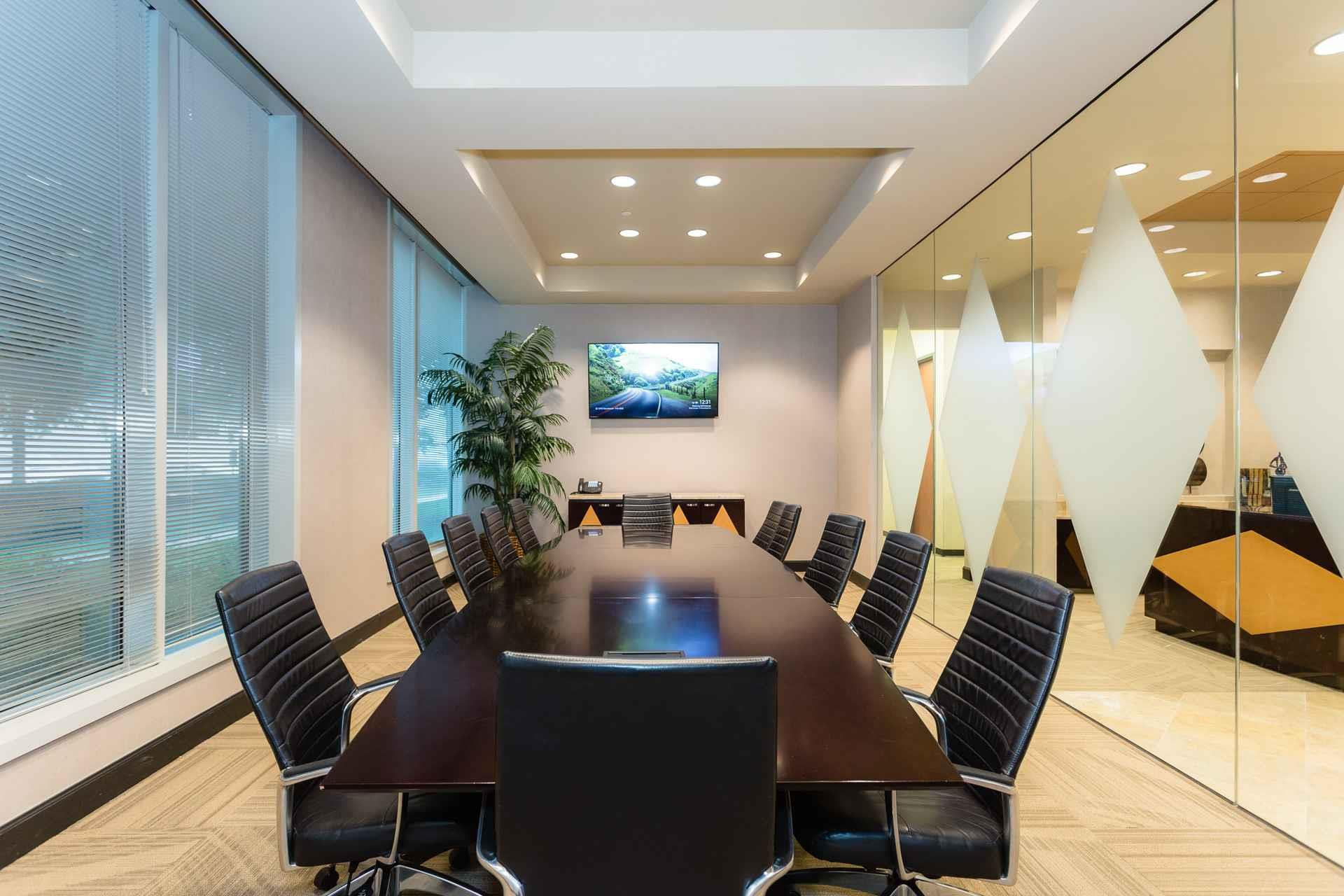 NorthPoint Executive Suites Alpharetta - Executive Boardroom