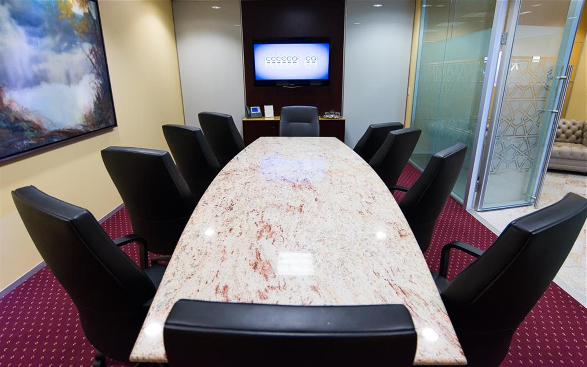 Servcorp - Downtown Los Angeles - Executive Boardroom