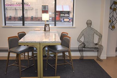 desk chair coworking - Hot Desk