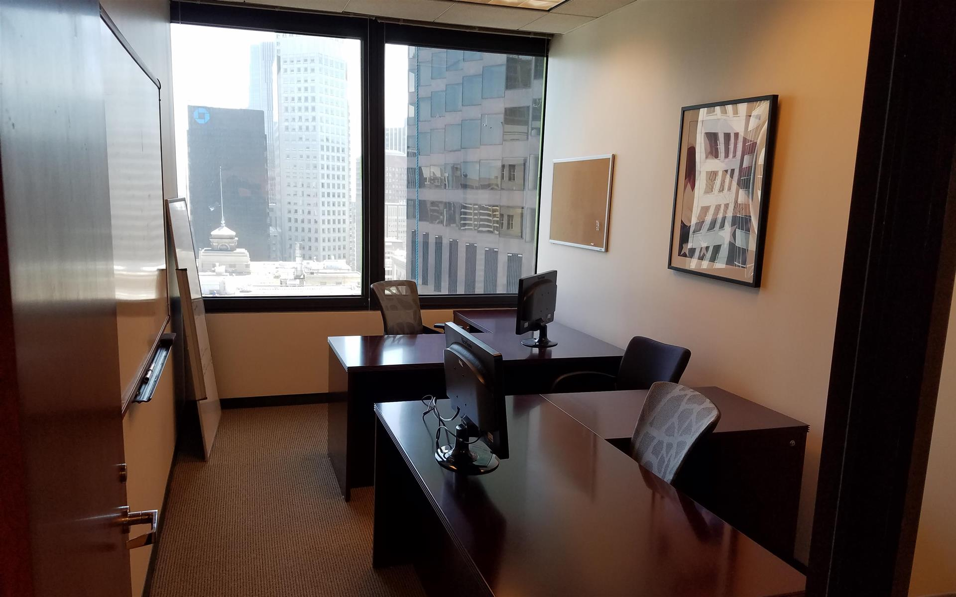 Office with a great view in the Financial District - Private Office Suite 1