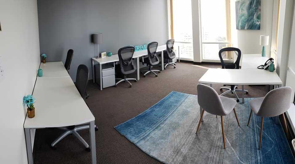 Regus- 9th Street - Office 52, window suite
