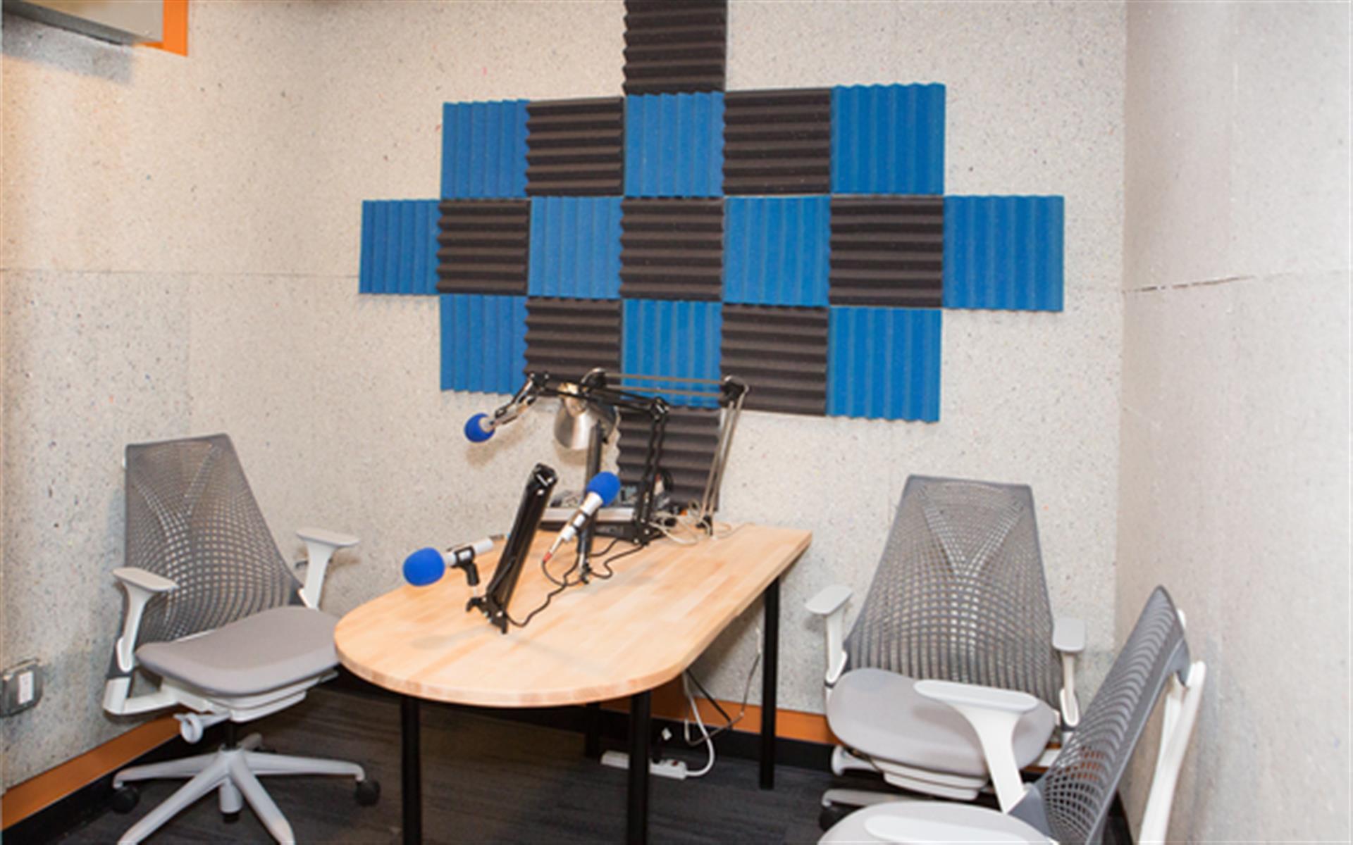 Impact Hub Santa Barbara - Audio Recording Room