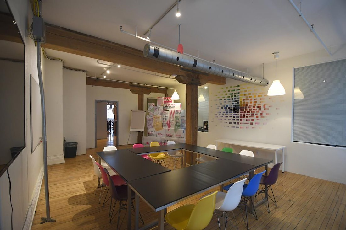Queen bathurst creative co working space