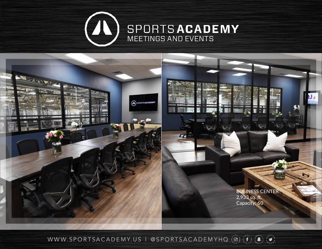 Sports Academy - Multi-Purpose Conference Center