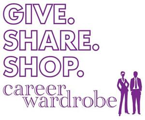 Logo of The Wardrobe, a resale store