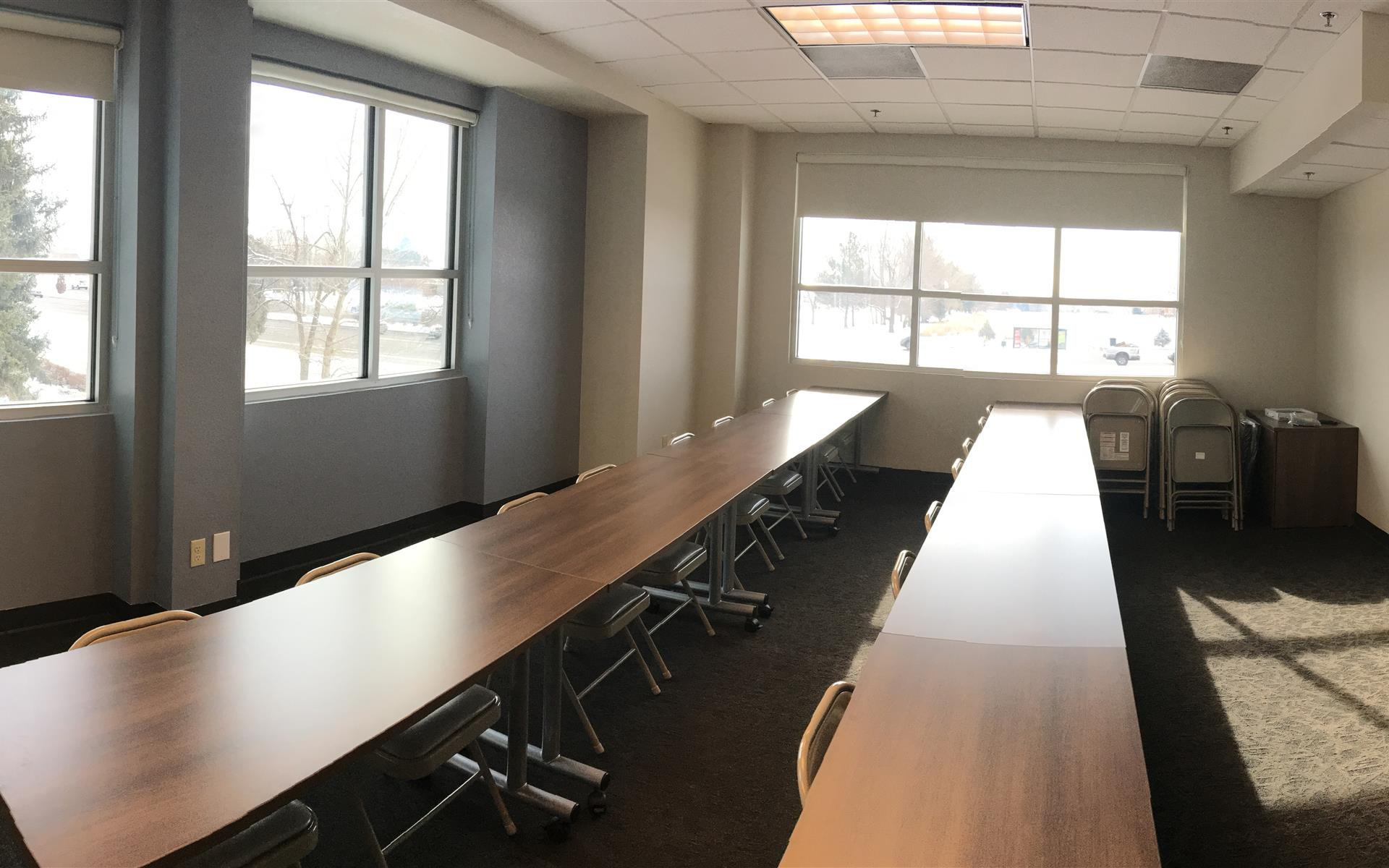 private office for 3 at office evolution - fort collins | liquidspace