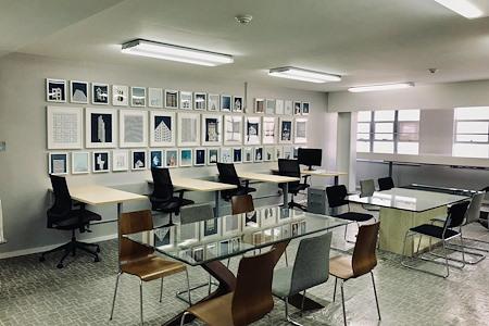 FOCUS Innovation Studio - 6ft Dedicated Desk for 1 or 2 people