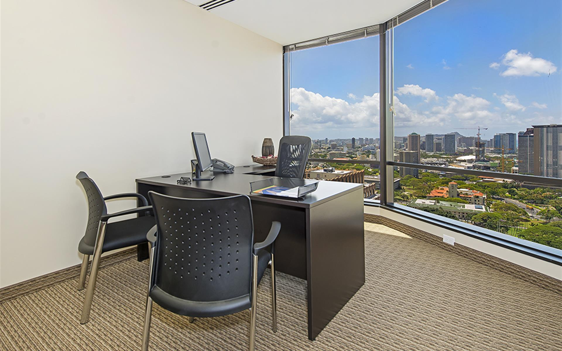 (HON) Pauahi Tower at Bishop Square - Window Office