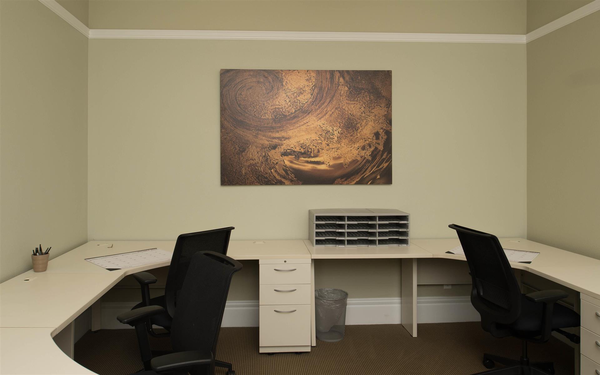 Victory Workspace Danville - Dedicated Desk C in the Green Room