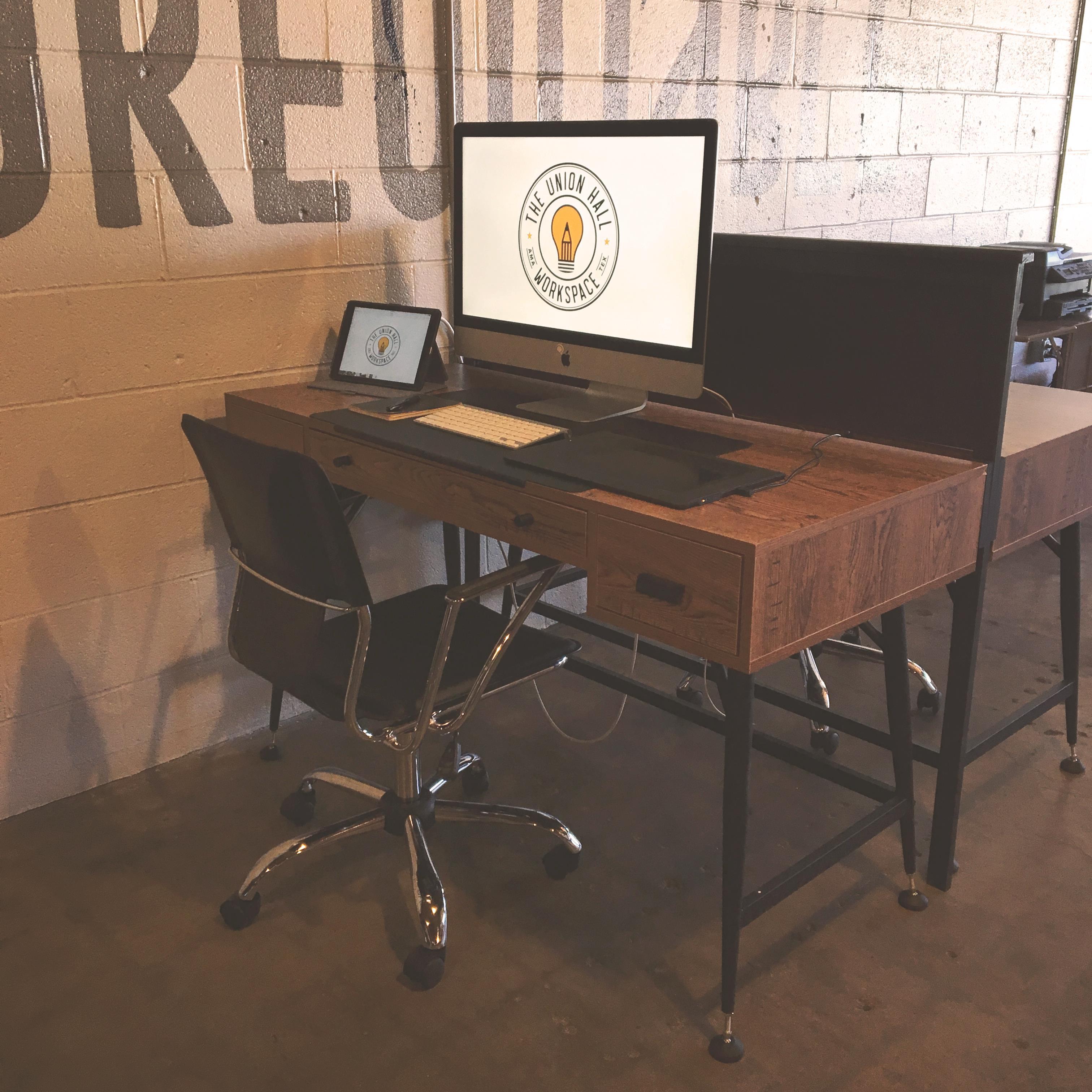 The Union Hall Workspace - Dedicated Desk