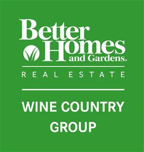 Logo of Better Homes and Gardens Real Estate Wine Country Group