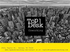 Host at TopDesk Co-Working
