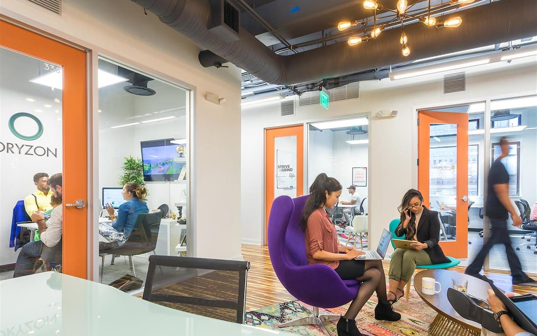 Private Office for 6 at Novel Coworking Gaslamp | LiquidSpace