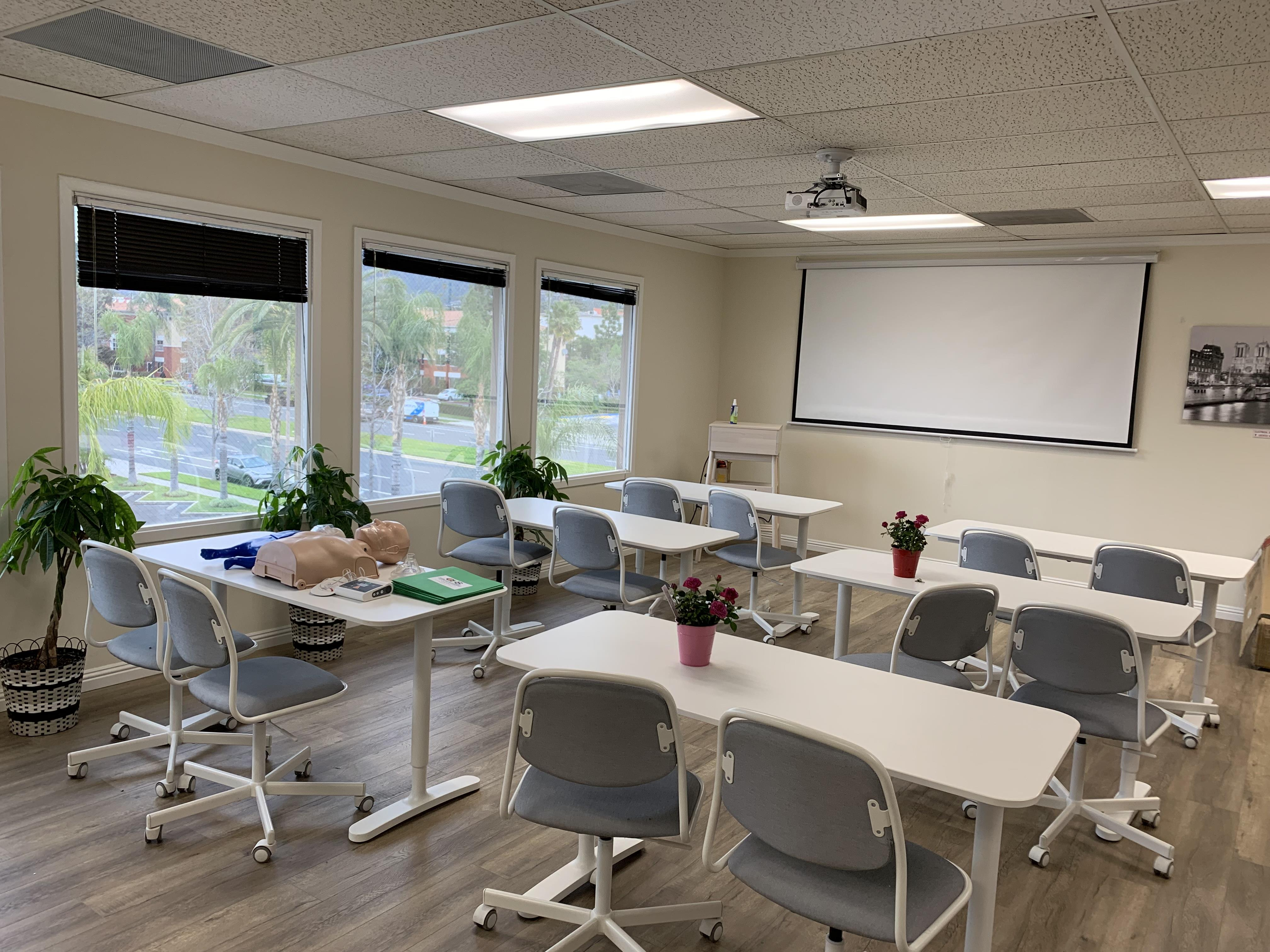 Quality Healthcare Solutions, Inc - Classroom Space with Kitchennete