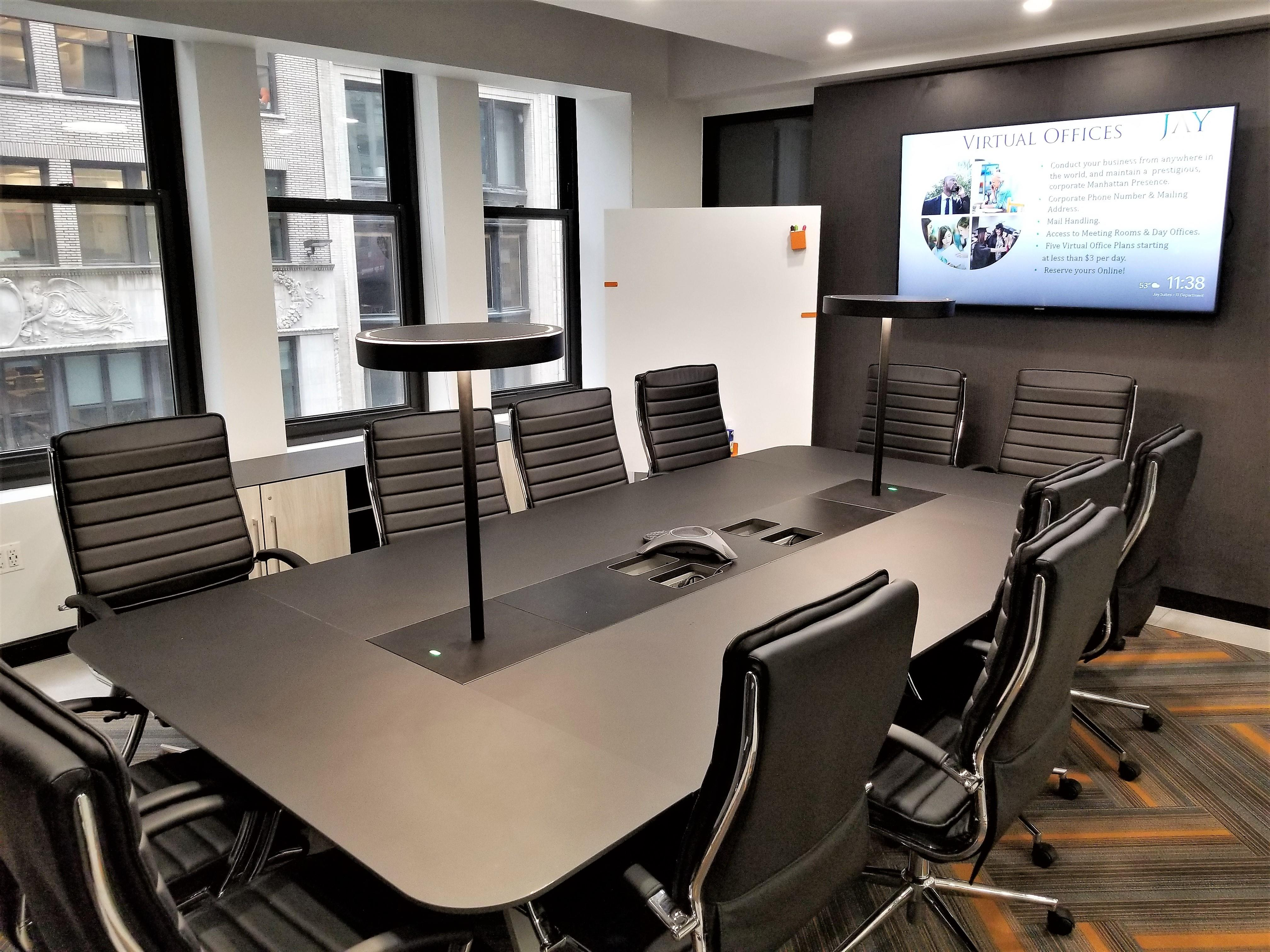 Jay Suites Fifth Avenue - 12 Person Boardroom with Windows 50% OFF