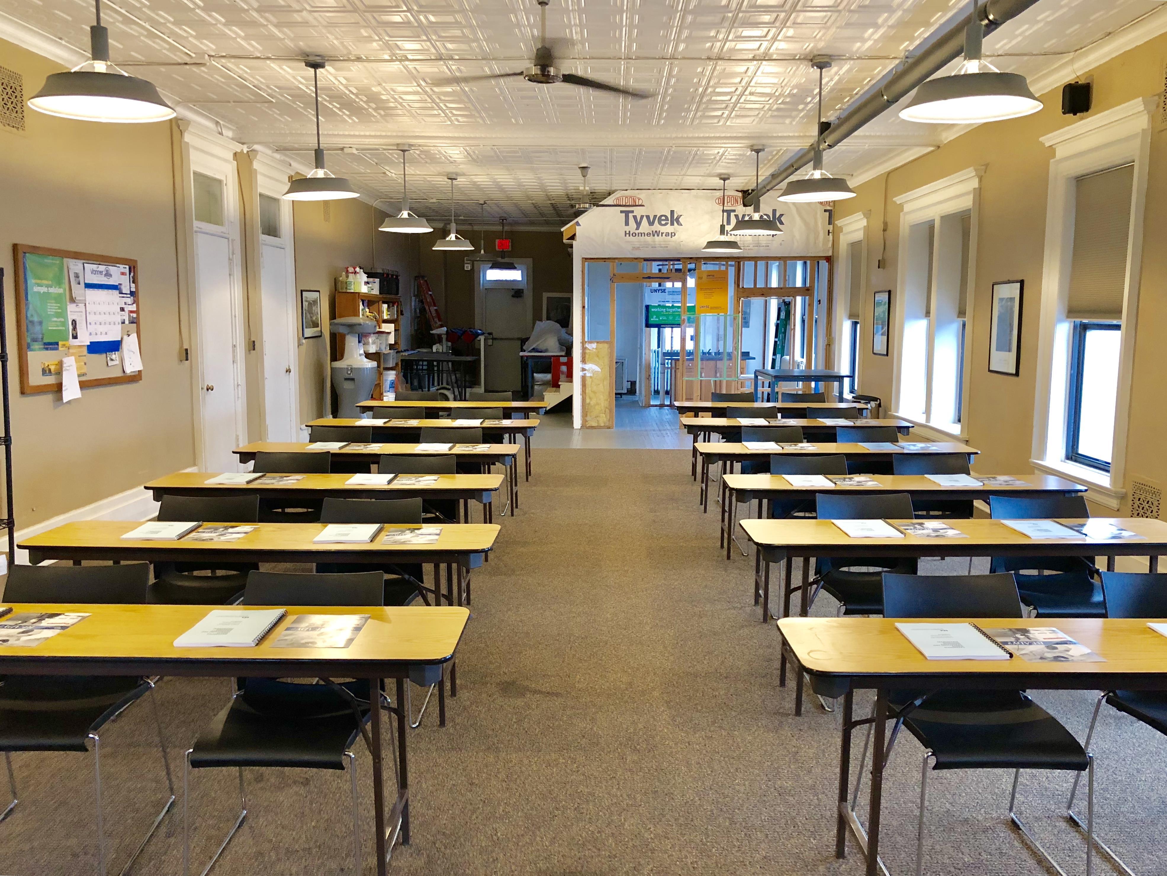 Old Precinct 13 - Upstairs Classroom