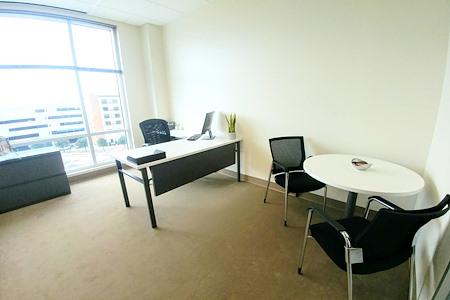 (ALN) One Allen Center - Beautiful Window Office