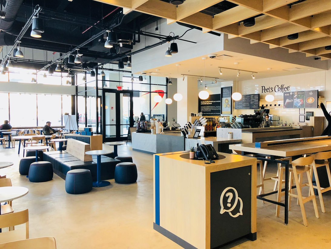 ea60896ae1a Coworking for 8 at Capital One Café - Assembly Row