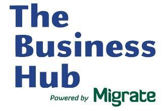 Logo of The Business Hub powered by Migrate