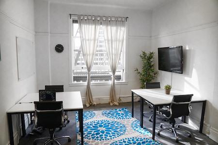Birdnest - 870 Market - Sunny Office, Window Views, 3-5 People