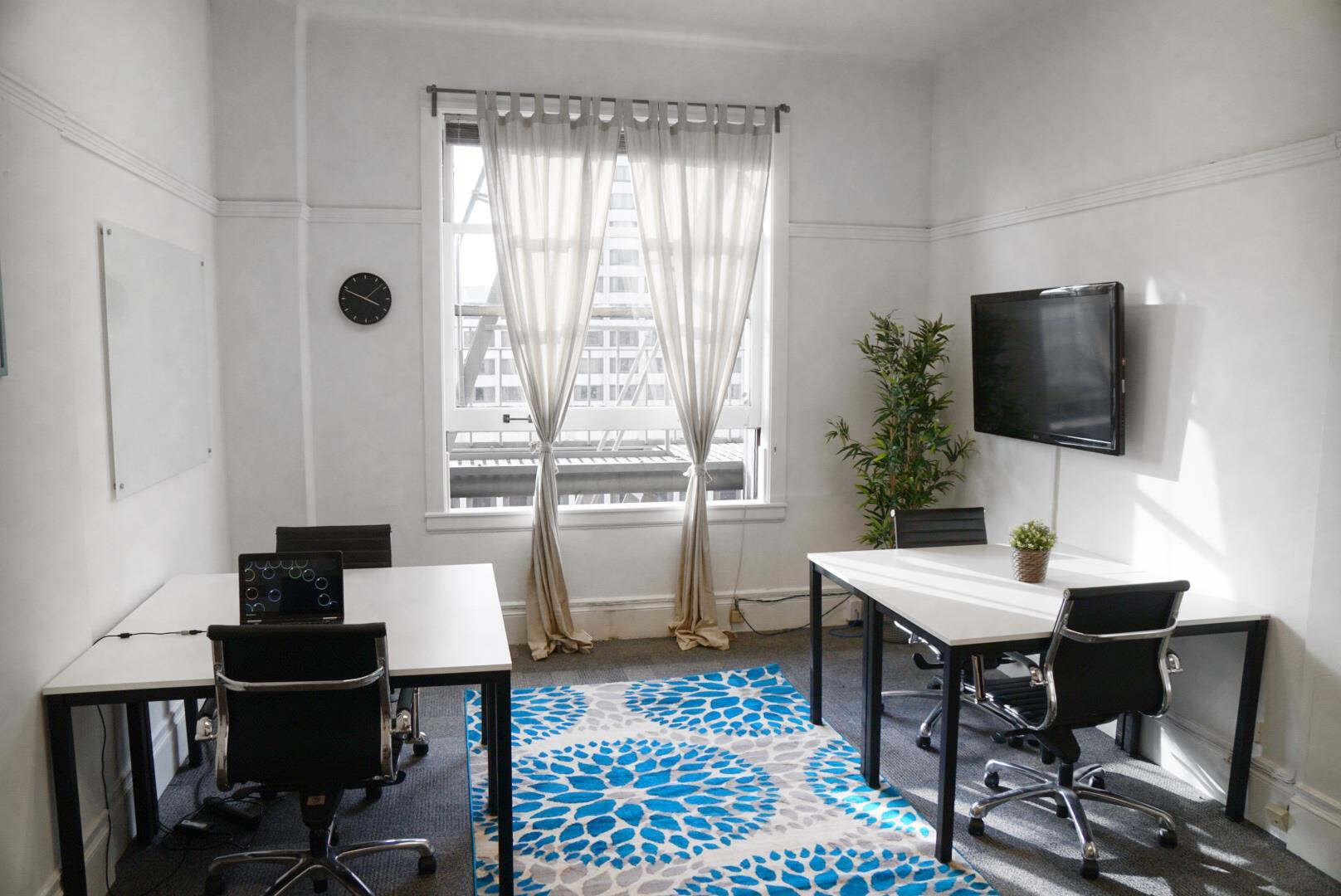 Birdnest - 870 Market - Sunny Office, Window Views, 3-5 People